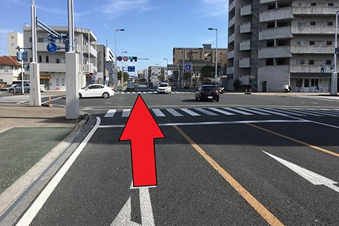 西方面から(高知駅北口から)1