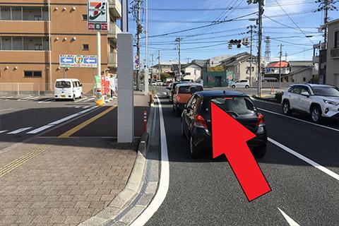 西方面から(高知駅北口から)2