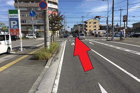 西方面から(高知駅北口から)3