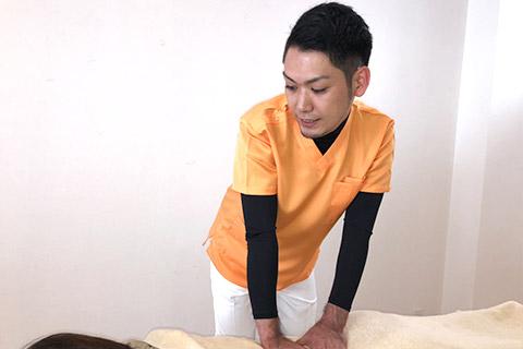 腰痛改善施術